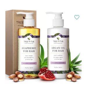 Argan Oil Shampoo & Conditioner Set Lavender